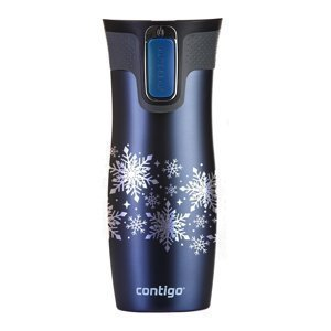 Thermal Mug Contigo West Loop 2.0 470ml Snow Stars monaco blue