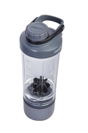 Shaker Contigo z pojemnikiem Shake and Go Fit 650ml - Black